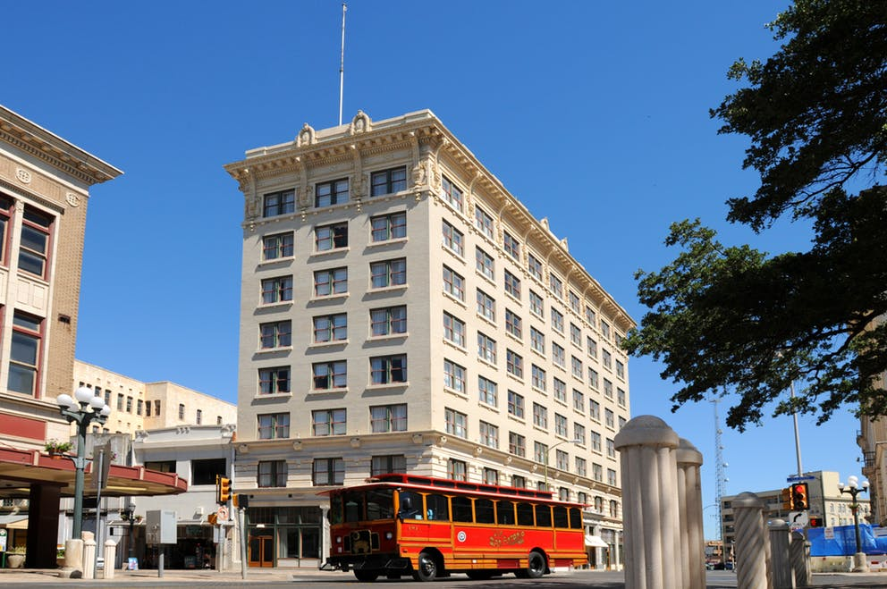 Historic Hotel Gibbs, San Antonio Texas circa 1909