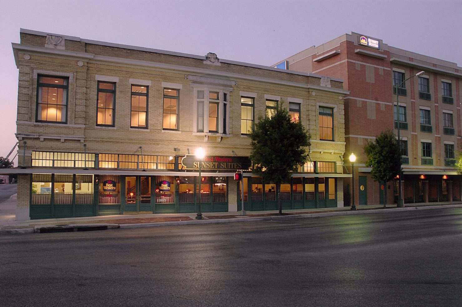 Icke Building, 1880. St. Paul Square Historic District, San Antonio, Texas, Best Western Suites