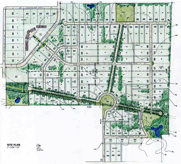 Urban Plan for Multi-Family and Hospitality Development, Hoefgen Street, Sunset Station Historic District, San Antonio, Texas.