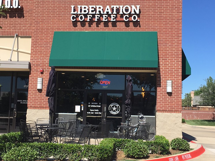 Ed Nelson, ERN Architects Liberation Coffee Exterior Coppell TX