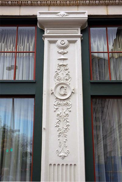The Gibbs Building – Hotel Indigo. Alamo Square Historic District, San Antonio Texas