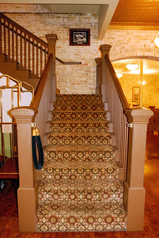 New Staircase Best Western Sunset Suites San Antonio TX