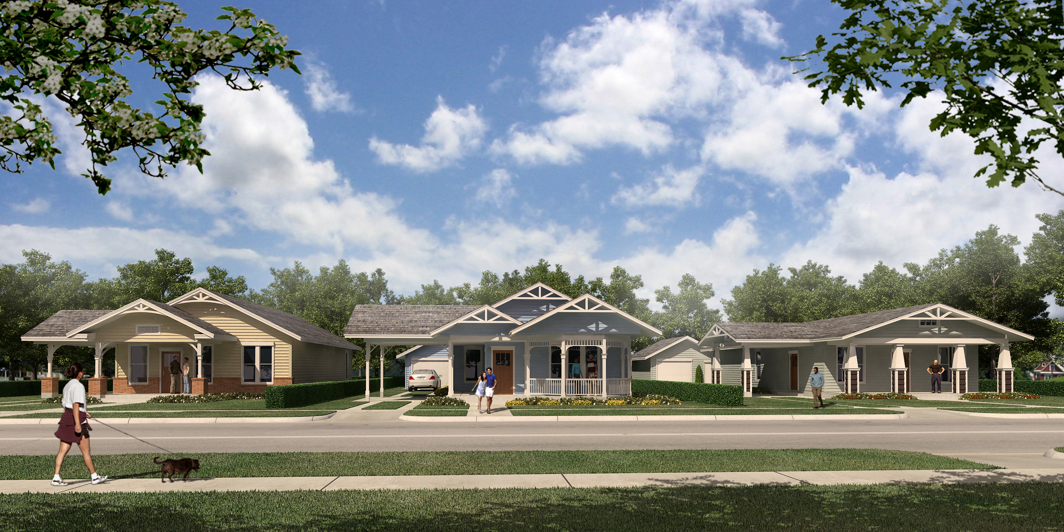 Tarrant County Housing Partnership Hillside Bungalow Revitalization, Fort Worth TX