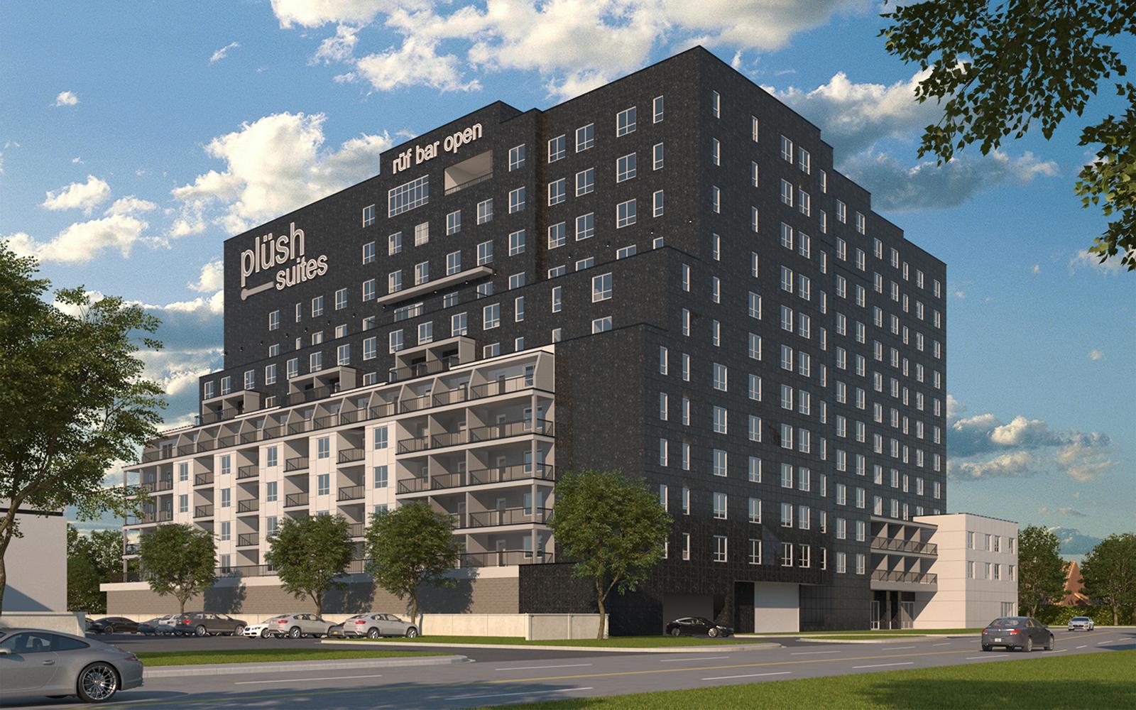 Plush Hotel, Galleria, Dallas Texas