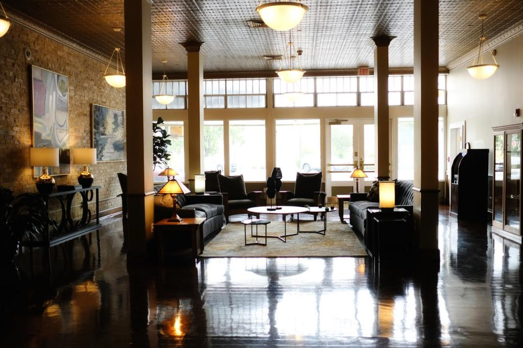 Lobby Best western Sunset Suites San Antonio